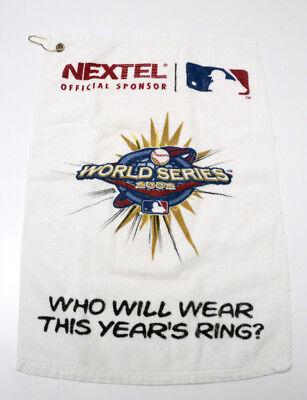 World Series 2002 MLB Golf Towel  Free Shipping