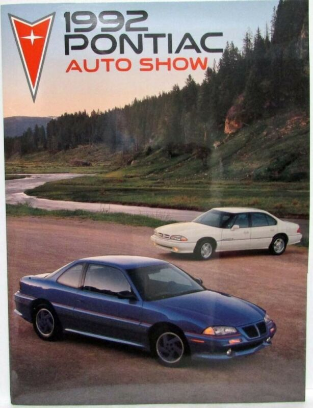 1992 Pontiac Press Kit - SSEi Grand Am Bonneville Photosport4