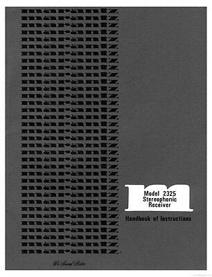 Marantz 2325 Receiver Owners Instruction Manual