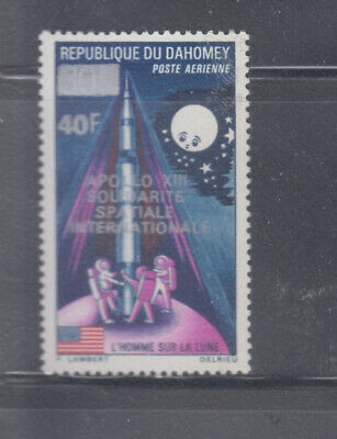Dahomey 1970 Space Apollo XIII  Sc C120 Sound mint never  hinged