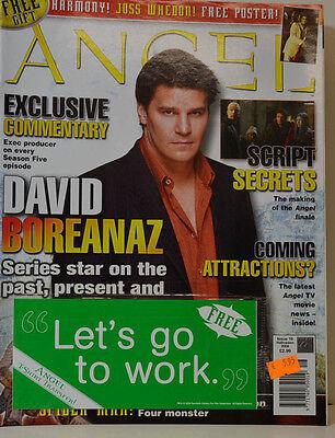 ANGEL  ZEITSCHRIFT MAGAZIN # 16 HALLOWEEN  2004 -  DAVID BOREANAZ ( ZB 102 )