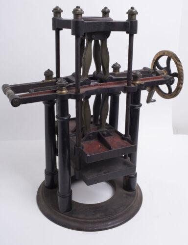 A Bronze Bell Lab Specimen Press Machine c.1800