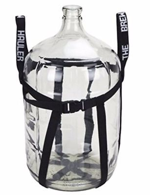 5 Gallon Carboy with Brew Hauler for Home Beer and Wine Making