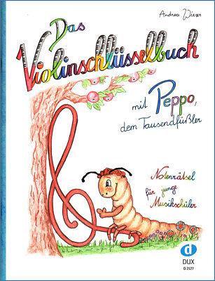 Das Violinschlüsselbuch - Notenrätsel für Musikschüler  - D2127 - 9783868493207