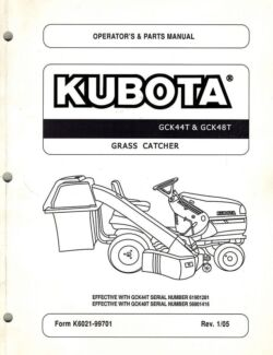 Kubota mower twin bag catcher GCK44T Willow Vale Gold Coast North Preview