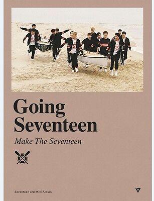 K-POP SEVENTEEN 3rd Mini Album [Going Seventeen] Make The Seventeen Ver.