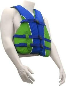 NEW LIFE JACKET - MADE IN 2017 - TRANSPORT CANADA APPROVED - KEEP THEM IN YOUR BOAT FOR SAFETY OF EVERYONE!