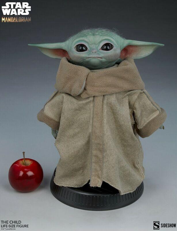 Sideshow Collectibles Star Wars Mandalorian The Child Baby Yoda Grogu Life Size