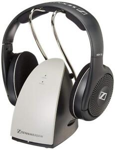 New Sennheiser RS120 On-Ear 926MHz Wireless RF Headphones with Charging Cradle Condition: New