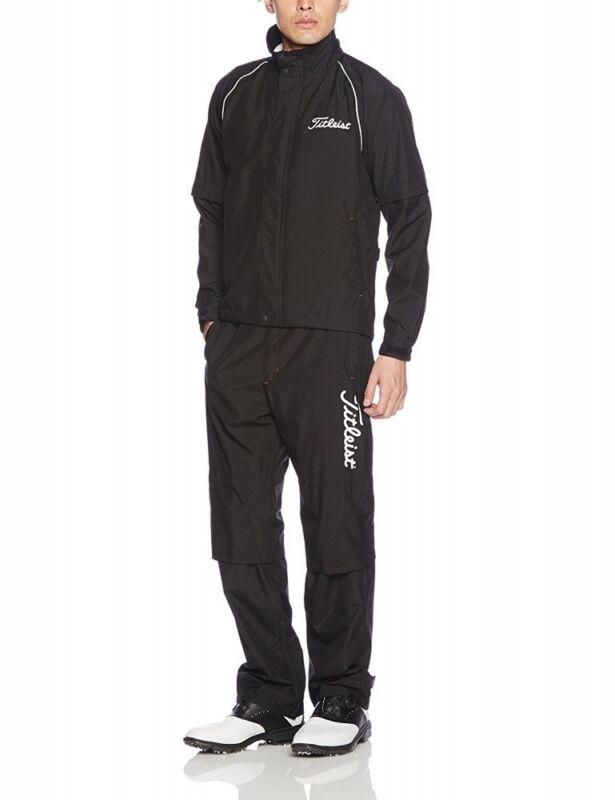 NEW TITLEIST apparel stretch rain suit wear TSMR 1592 black S-3L
