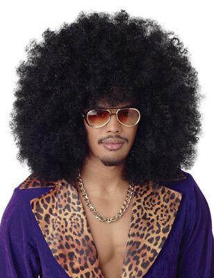 »XXL Afro Perücke Karneval Fasching 70er Atze Hippie Wig Party NEU«