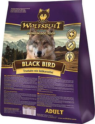 Wolfsblut Black Bird 15 kg Hundefutter mit Truthahn & Süßkartoffeln