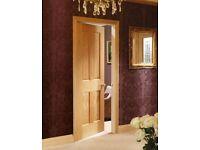 Prefinished Oak 4 Panel Victorian Doors