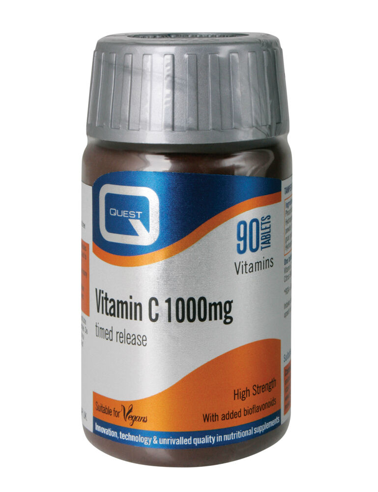Quest Vitamin C 1000mg Timed Release 90 Tablets