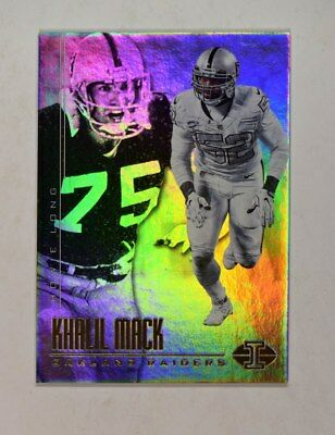 2017 Panini Illusions Base  78 Khalil Mack Howie Long