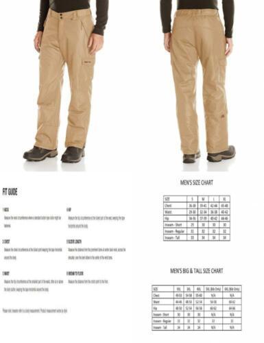 Arctix Men's Snow Sports Cargo Pants Large/Regular, Khaki