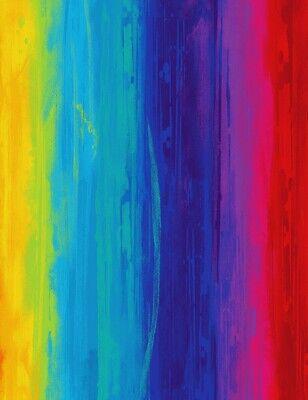 Digital Printed Fabric - Rainbow Paintstroke Stripe - Timeless Treasures YARD - Kids Rainbow Bright Costume