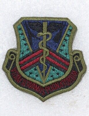USAF Air Force Patch: Grand Forks AFB Hospital - subdued