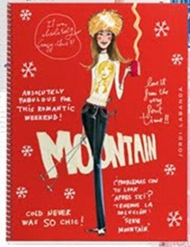 Jordi LaBanda Mountain Girl Cardboard Notebook 6.5x8
