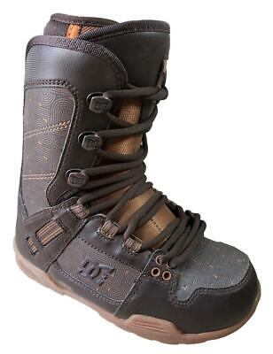 $200 DC The Park Snowboard Boots Men 6 = womens 7 = 6.5 kids +Burton decal K9 Dc Park Snowboard Boots