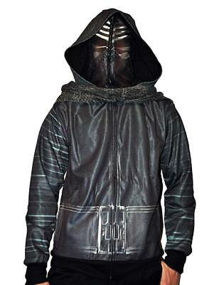 Star Wars Kylo Ren Costume Jacket Halloween Mask Cape Hoodie Shirt Cosplay - Star Wars Costume Hoodie
