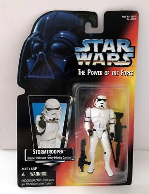 Star Wars POTF Red Card ~ STORMTROOPER ~ 1995 Figure ~ Unopened