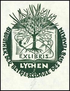 Zierold Erhard X3 Exlibris 1981 Bookplate Tree Baum s603 - <span itemprop=availableAtOrFrom> Dabrowa, Polska</span> - Zierold Erhard X3 Exlibris 1981 Bookplate Tree Baum s603 -  Dabrowa, Polska