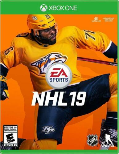 NHL 19 Xbox One - Brand New Factory Sealed - Free Shipping!