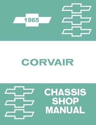 1965 Chevrolet Corvair Shop Service Repair Manual (Corvair Repair Manual)