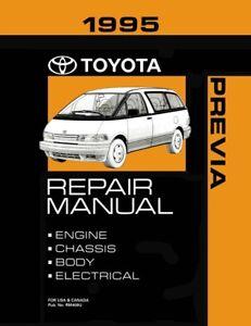 1995 Toyota Previa Shop Service Repair Manual