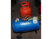 GAS HEATER PORTABLE FOR LARGE GARAGE