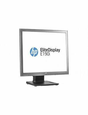 """MONITOR PC 19"""" HP RICONDIZIONATO GRADO A ELITEDISPLAY E190I 1280x1024 5:4 DP VGA"""