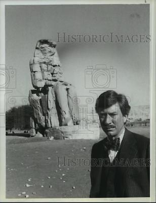 1980 Press Photo Robin Ellis stars in The Curse of King Tut's Tomb, on (The Curse Of King Tuts Tomb 1980)