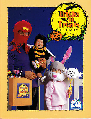 Applause Tricks N Treats Halloween Catalog 1993 Little Spooks Masks Earrings](Halloween Mask Catalog)