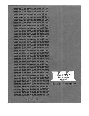 Marantz 2238B Receiver Owners Manual