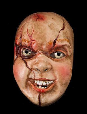 Mask Chucky-Halloween-Horror-Paper Mache Venetian - 885 -VG4