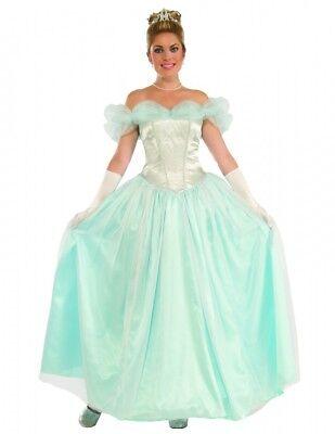 Damen Kostüm Happily Ever After Princess Cinderella Frozen Prinzessin Gr. 36/38