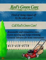 Red's Green Care