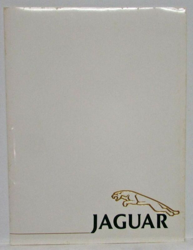 1993 Jaguar Press Kit - XJ6 XJS XJ220