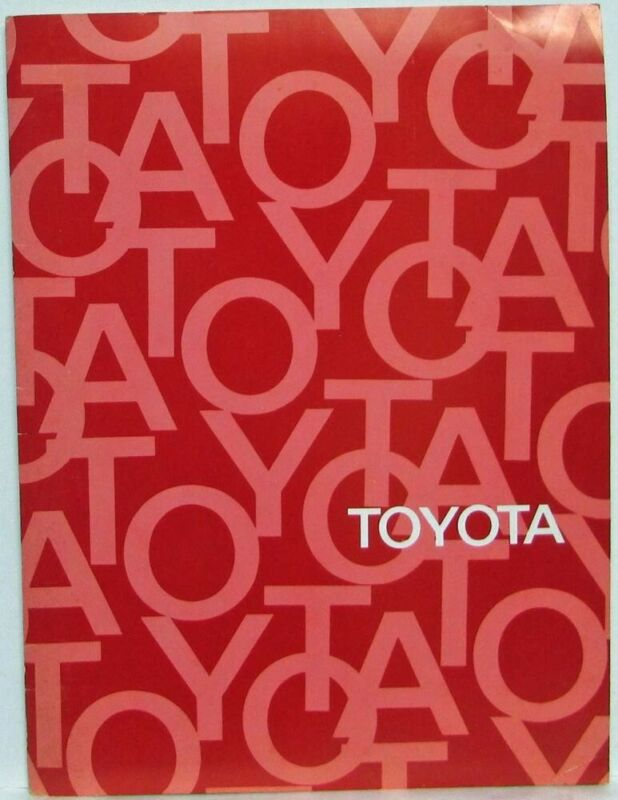 1974 Toyota Press Kit - Corona Pickup Corolla