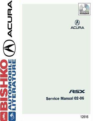 2002-2006 Acura RSX Shop Service Repair Manual CD