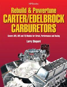 Rebuild-Carter-AFB-AVS-Thermoquad-Edelbrock-Carbs