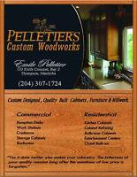 CUSTOM DESIGNED AND BUILT CABINETS AND FURNITURE