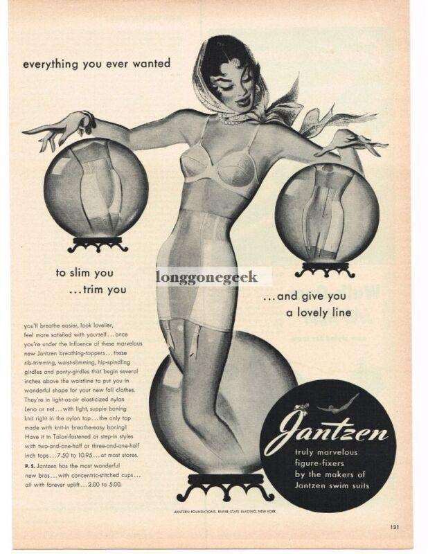 1950 Jantzen Bra Girdle Women