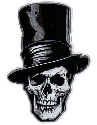 Stovepipe EMBROIDERED 10 INCH IRON ON MC BIKER  PATCH