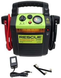 New - 4000 AMP JUMP STARTER - PORTABLE POWER PACK FOR CARS, CAMPSITES AND STORM EMERGENCIES