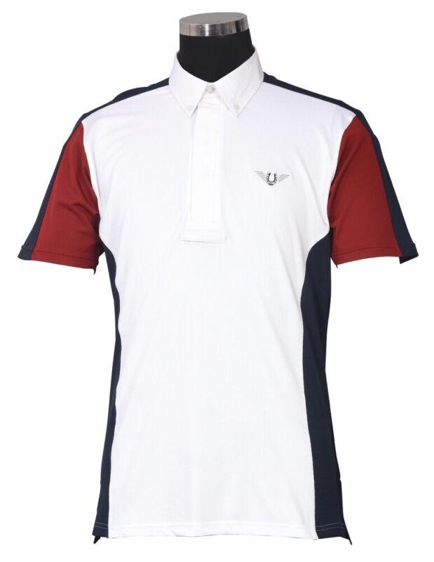 TuffRider Men's Dennison Short Sleeve Show Shirt