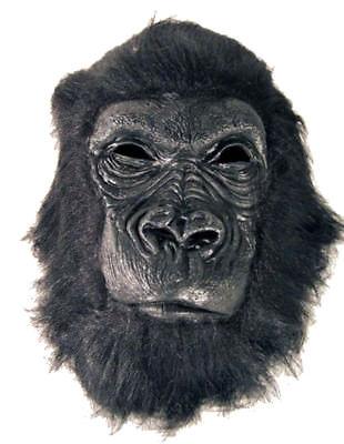 PROFESSIONAL GORILLA MASK monkey costume mascot ape dressup masks #56 face apes (Gorilla Mask Costume)