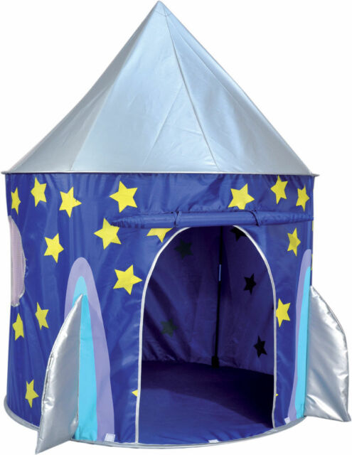 Spirit of Air Kids Kingdom Pop Up Play Tent Rocket 130 x 100cm