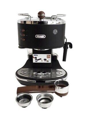 DeLonghi ECOV311.BK Espresso-Siebträgermaschine schwarz